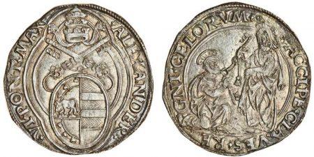 Alexander VI, Double Grosso (Spink)