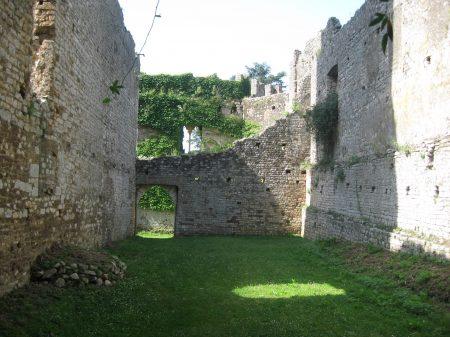 Ruined interior of Ninfa_'s castle